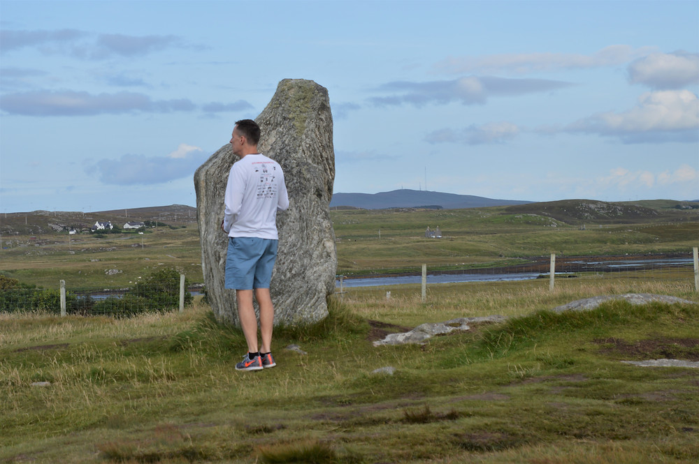 Standing Stones of Callanish erected over 5000 years ago on Lewis and Harris in the Outer Hebrides