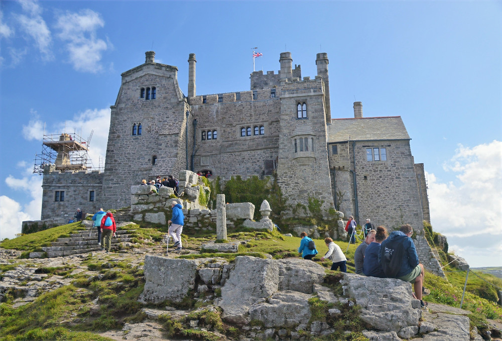 The original St Michael's Mount Castle and Monastery dates back to 1135