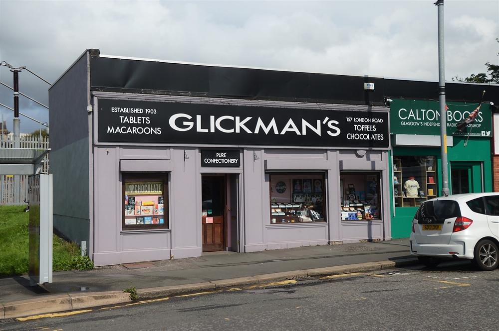 Glickman's Sweet Shop in Glasgow