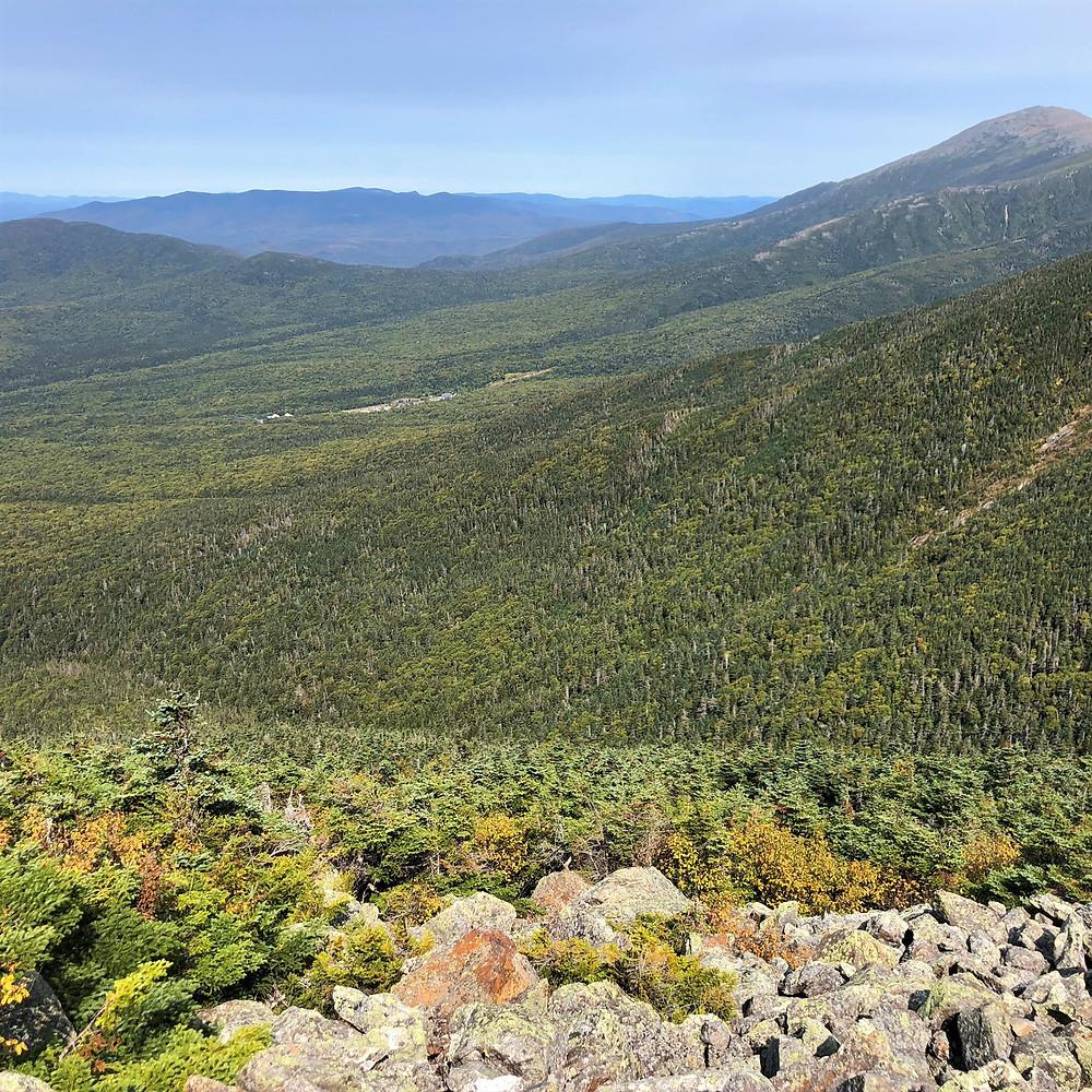 Ravines at base of Mt Washington.