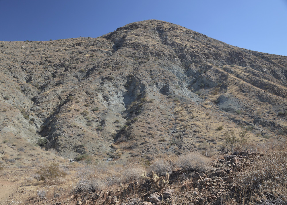 Foothills of the Santa Rosa Mountains in Palm Springs