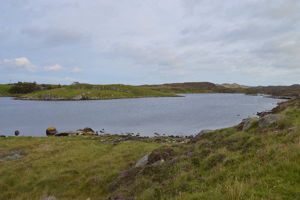 Great Bernera Loop hike on the NW coast of Isle of Lewis, Outer Hebrides