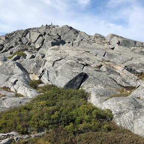 Hike Mount Monadnock via multiple trails, NH: Sep 2020
