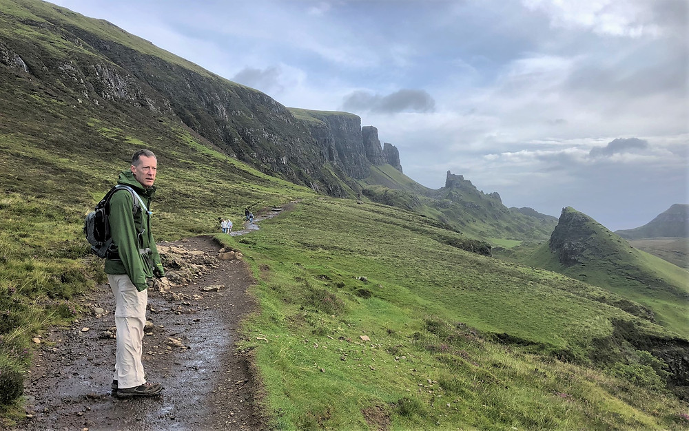 Quiraing is part of the Trotternish landslip which continues to slip several centimeters each year. Isle of Skye.