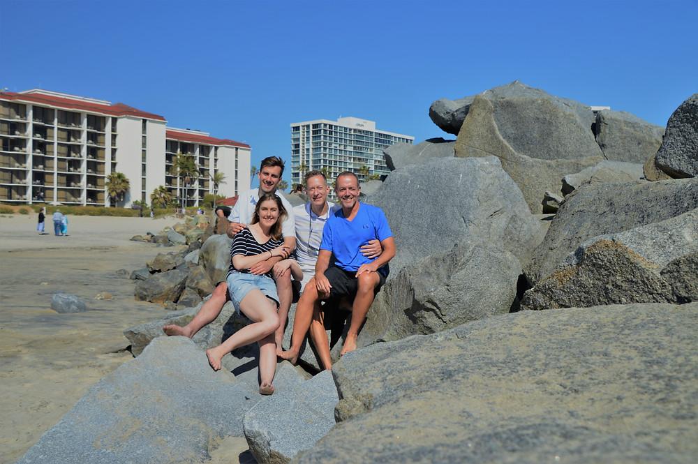 Coronado Beach in San Diego at the Hotel Del Coronado