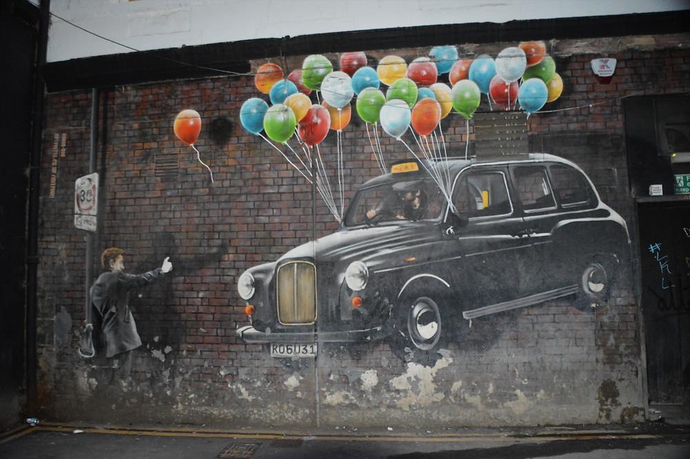 Glasgow building murals