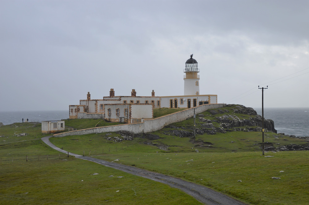 Neist Point Lighthouse on the western tip of the Isle of Skye