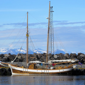 Iceland, Sailing Out of Húsavík