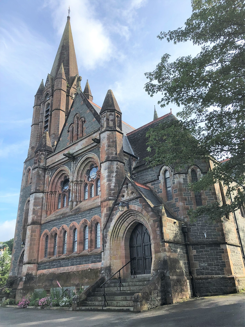 Airbnb in old church in the village of Moffat in Southern Scotland