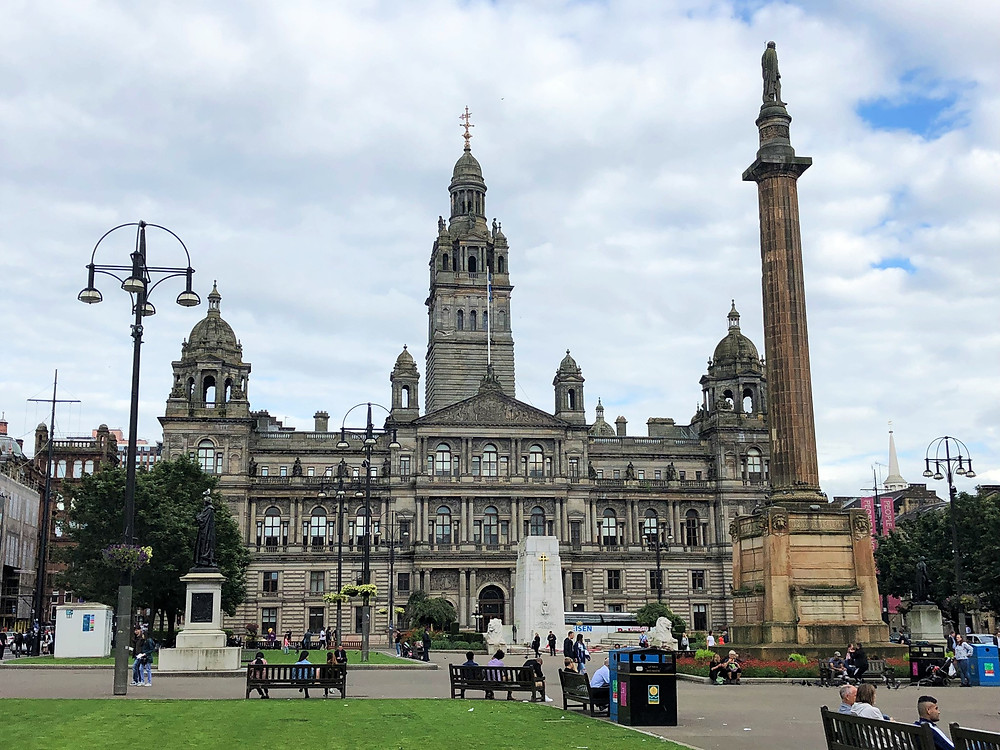 Glasgow City Council in St George Square