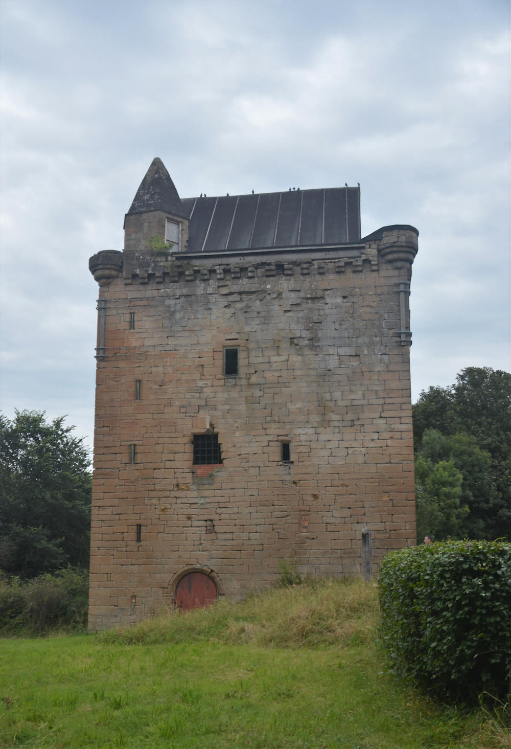 Ruins of Sauchie Tower date back to the 1430s