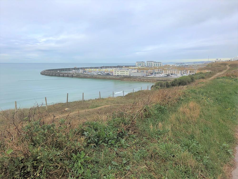 Morning run along the Brighton coastline in England
