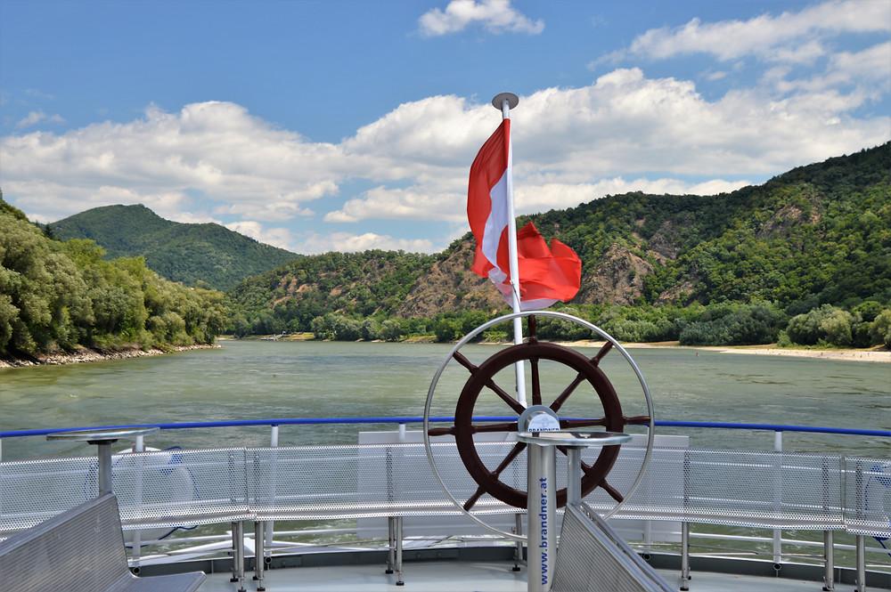 Danube River cruise from Krems to Melk in Austria