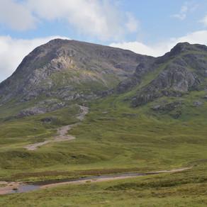 Hike Buachaille Etive Mòr, Scotland: Aug 2019