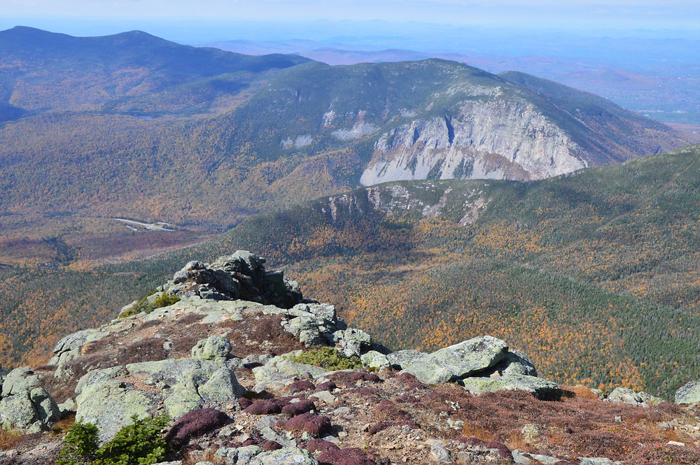 Cannon Cliffs from Mt Lincoln