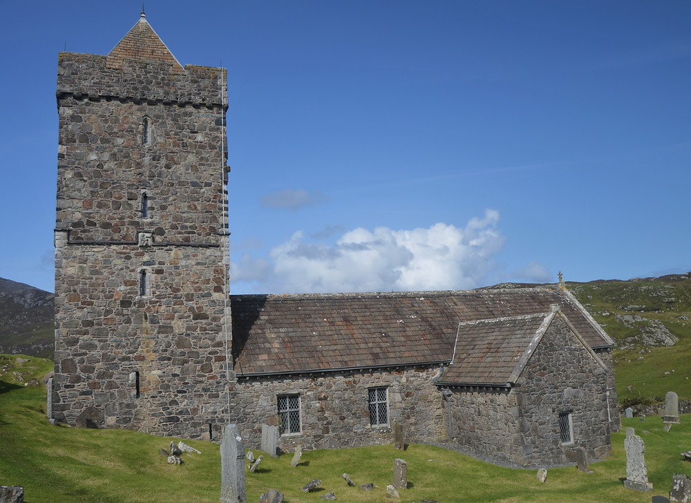 St. Clement's Church in the village of Rodel on Lewis and Harris in the Outer Hebrides