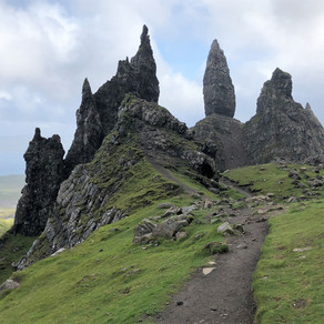 Hike Old Man of Storr and Quiraing, Skye: Aug 2019