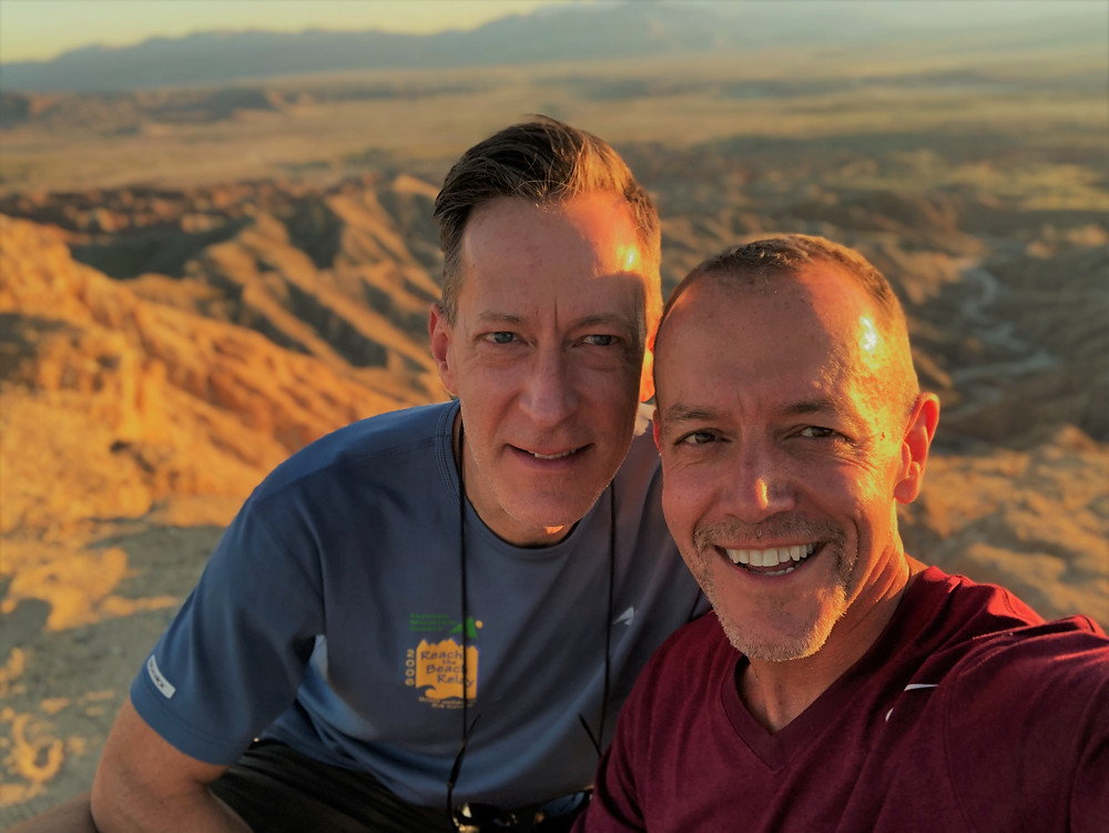 Best sunsets at Anza Borrego are at Font's Point