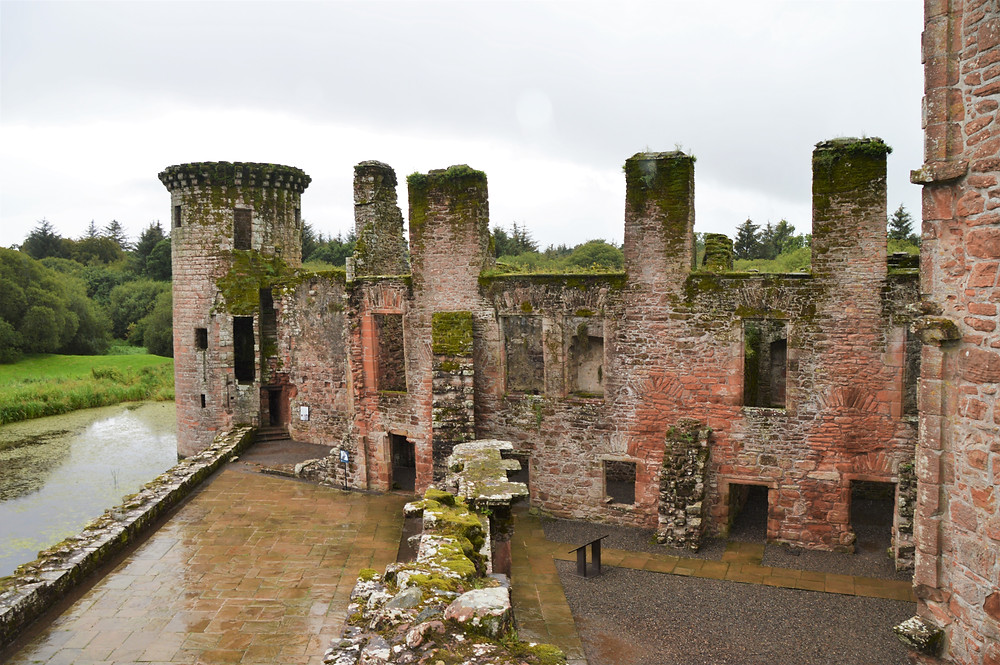 In 1300, Edward I, the 'hammer of the Scots' besieged Caerlaverock Castle in Southern Scotland.