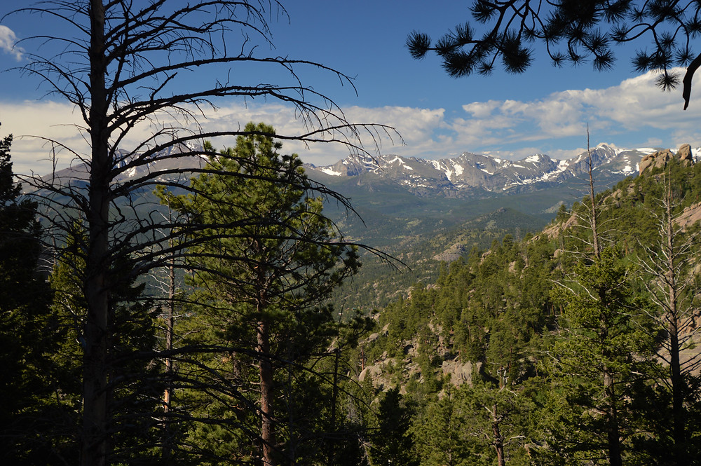 Rocky Mountain National Park includes 72 peaks with elevations greater than 12,000 feet
