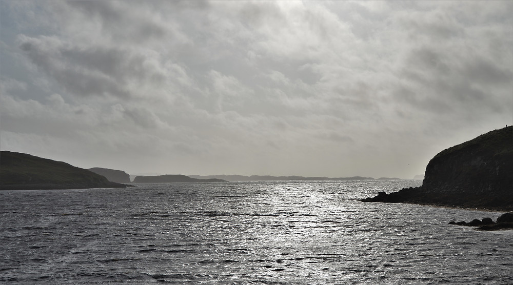 Carloway Bay on Lewis and Harris in the Outer Hebrides