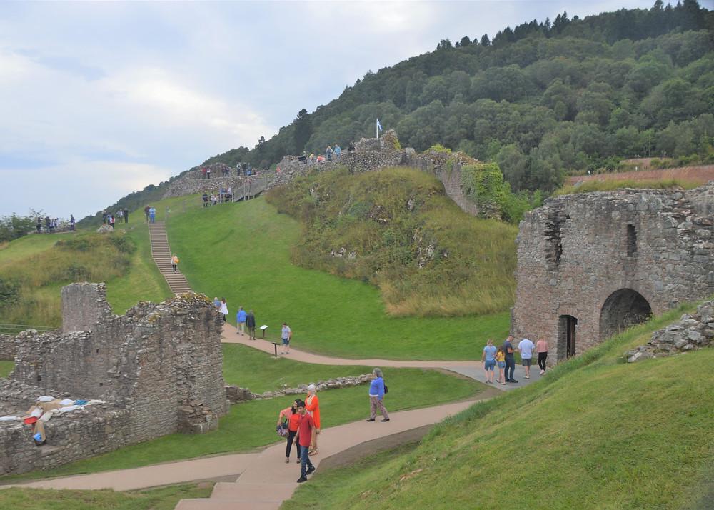 Urquhart Caste is the 3rd most visiting castle in Scotland after Edinburgh Castle and Stirling Castle
