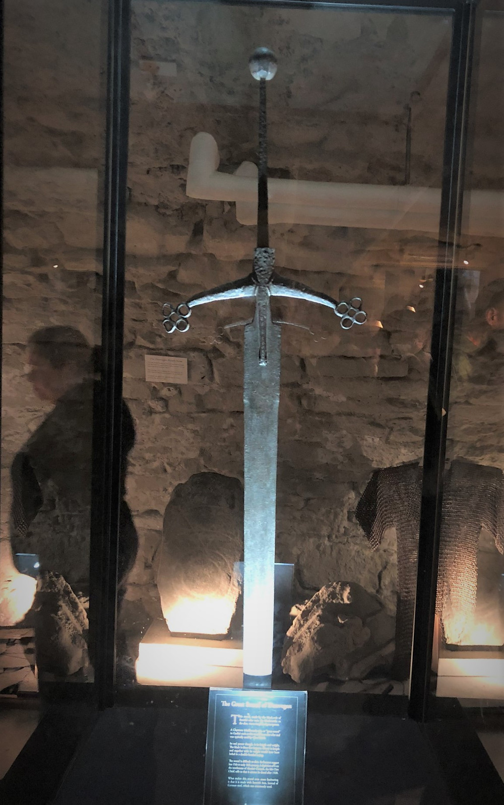 The Great Sword of Dunvegan housed in Dunvegan Castle belonged to William Long Sword (7th Chief) who was killed in 1480