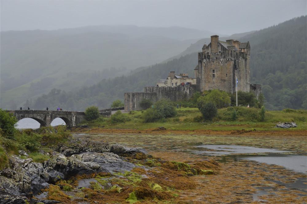 Eilean Donan stands at the strategically important location where three sea lochs meet: Loch Duich, Loch Long, and Loch Alsh
