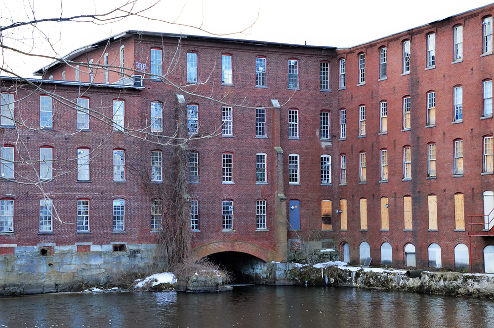 Nashua Manufacturing Co Picker Building built in 1866