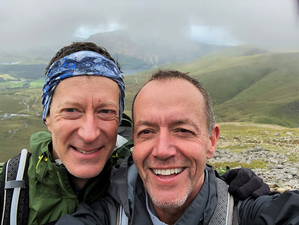 Hiking the Snowdon Ranger Path to the summit