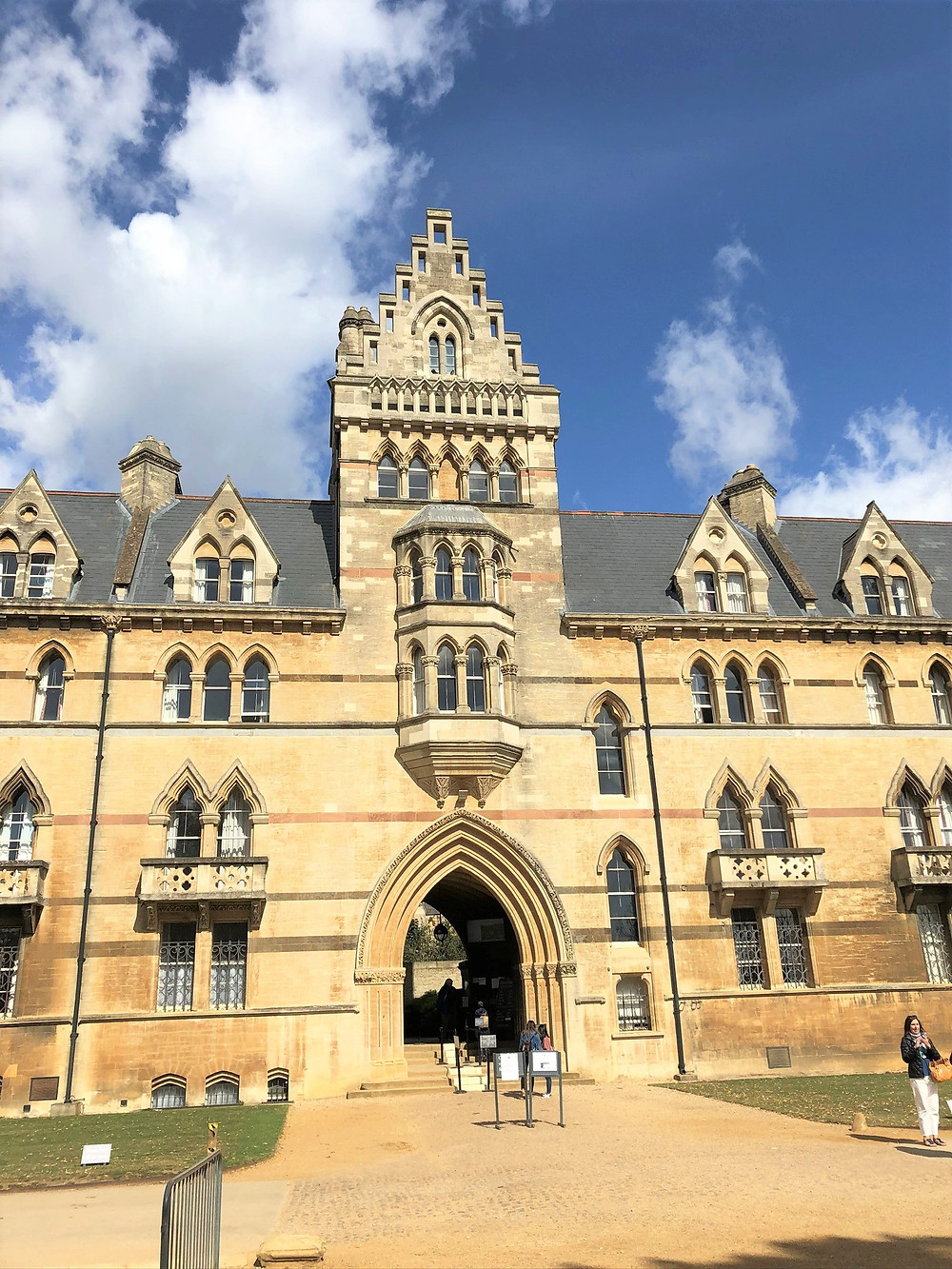 Christ Church College Meadows Building in Oxford England