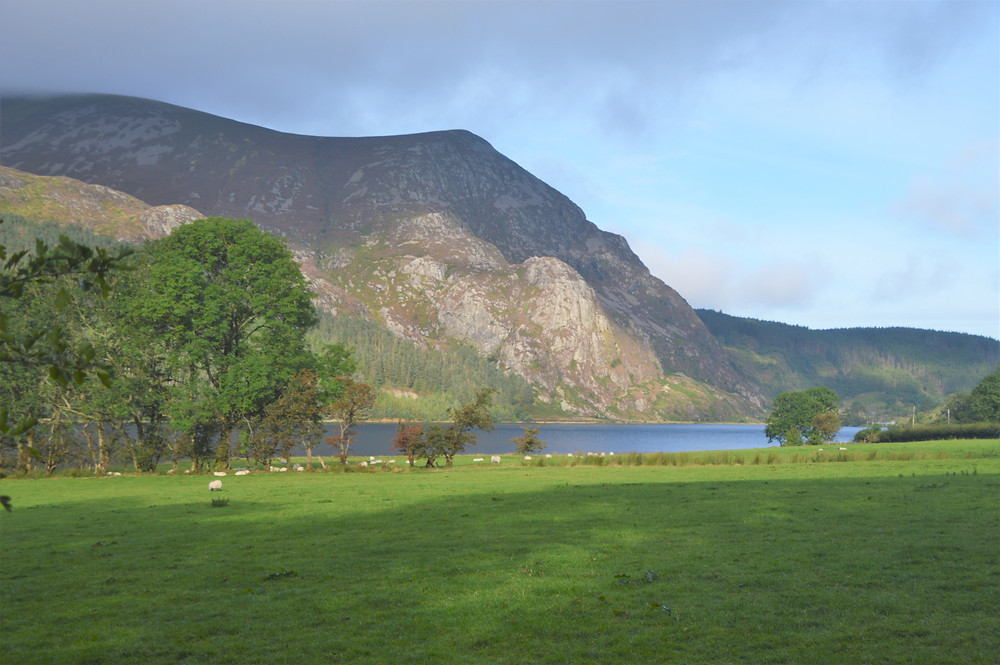 We started along the shore of Llyn Cwellyn heading to the summit of Snowdon