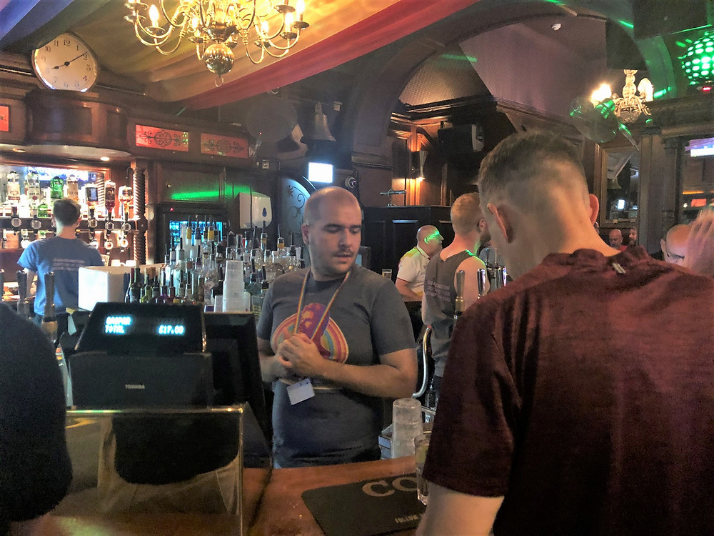 Rupert Street gay bars in London