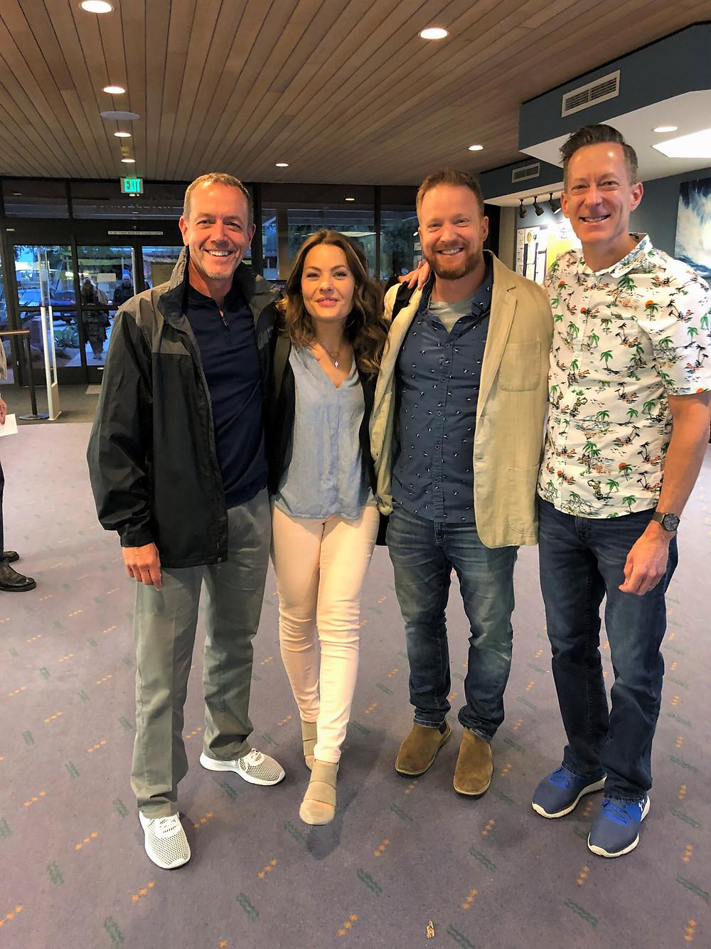 Meeting Eric and Lindsey Bennett, hosts of the HGTV show 'Desert Flippers'.