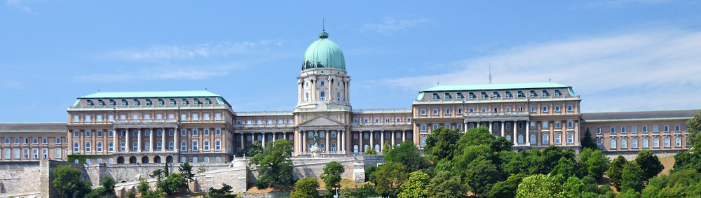 Buda Castle located in Budapest was completed in 1265 and was the home to Hungarian Kings