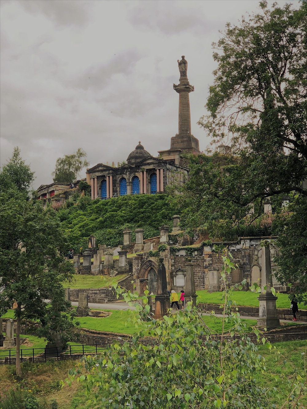 Necropolis, the Victorian cemetery is the final resting place for over 50,000 Glasgow residents.