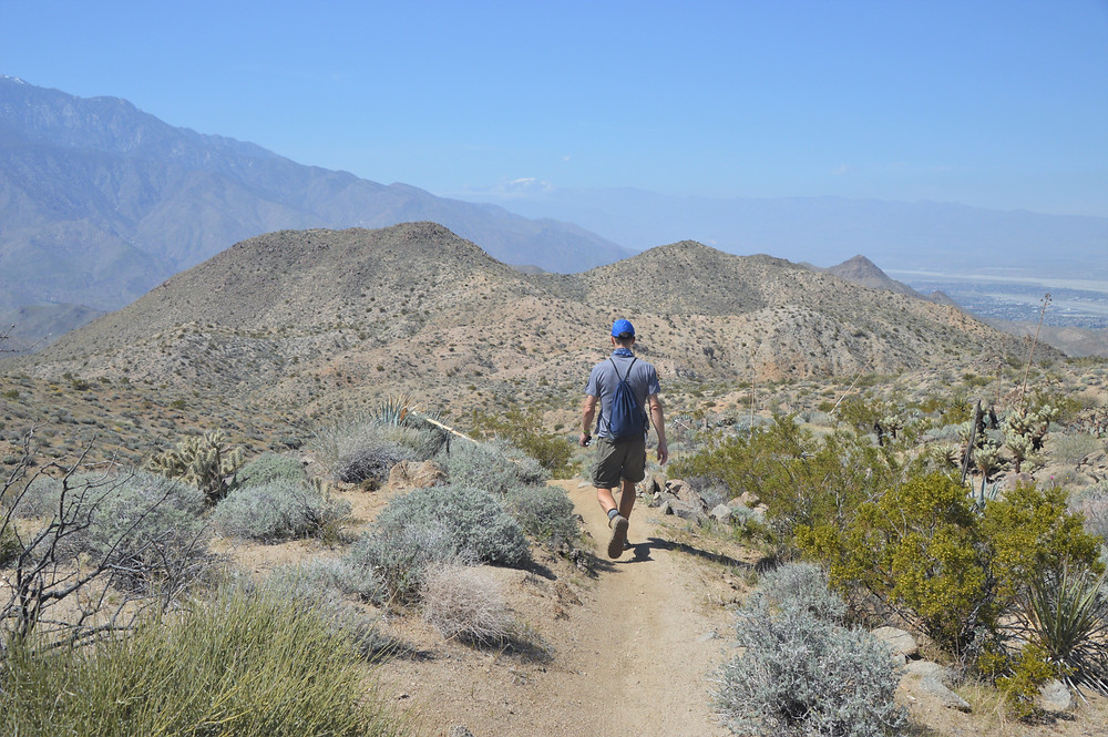 Hiking the Hahn Vista Trail on the Cathedral Canyon Loop
