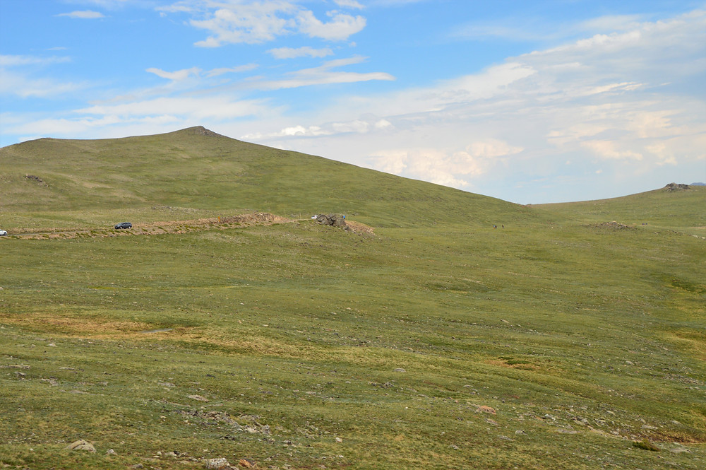 The alpine tundra of Rocky Mountain National Park is a fragile ecosystem