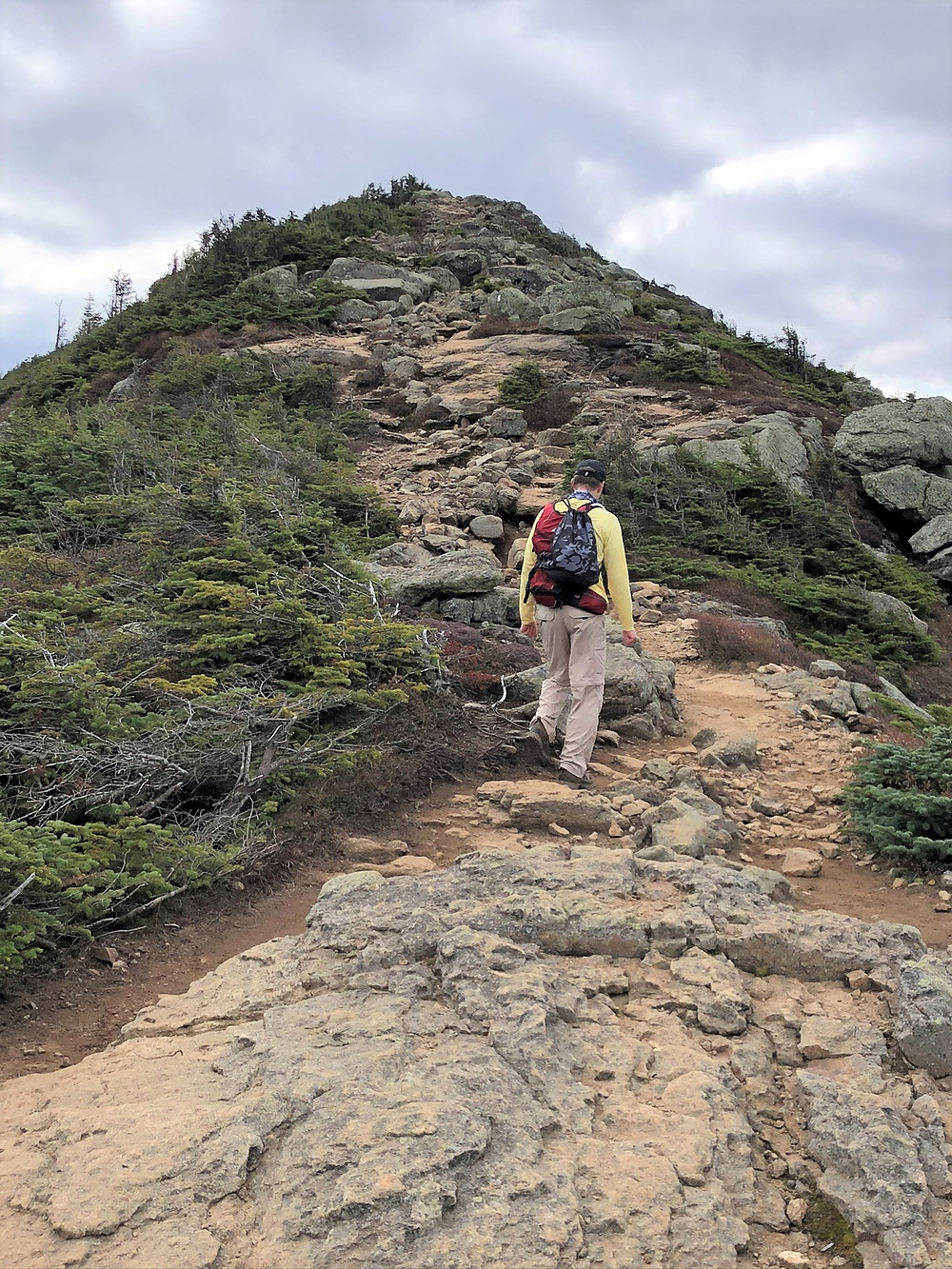 Mt Lincoln from Franconia Ridge Loop Trail