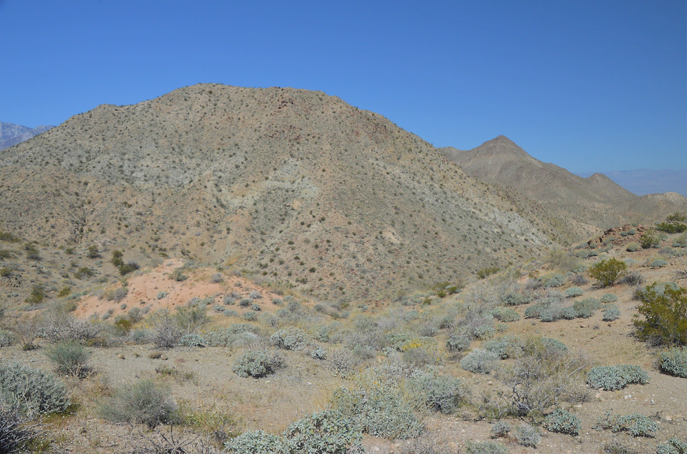 Murray Hill peak from Cathedral Canyon trail