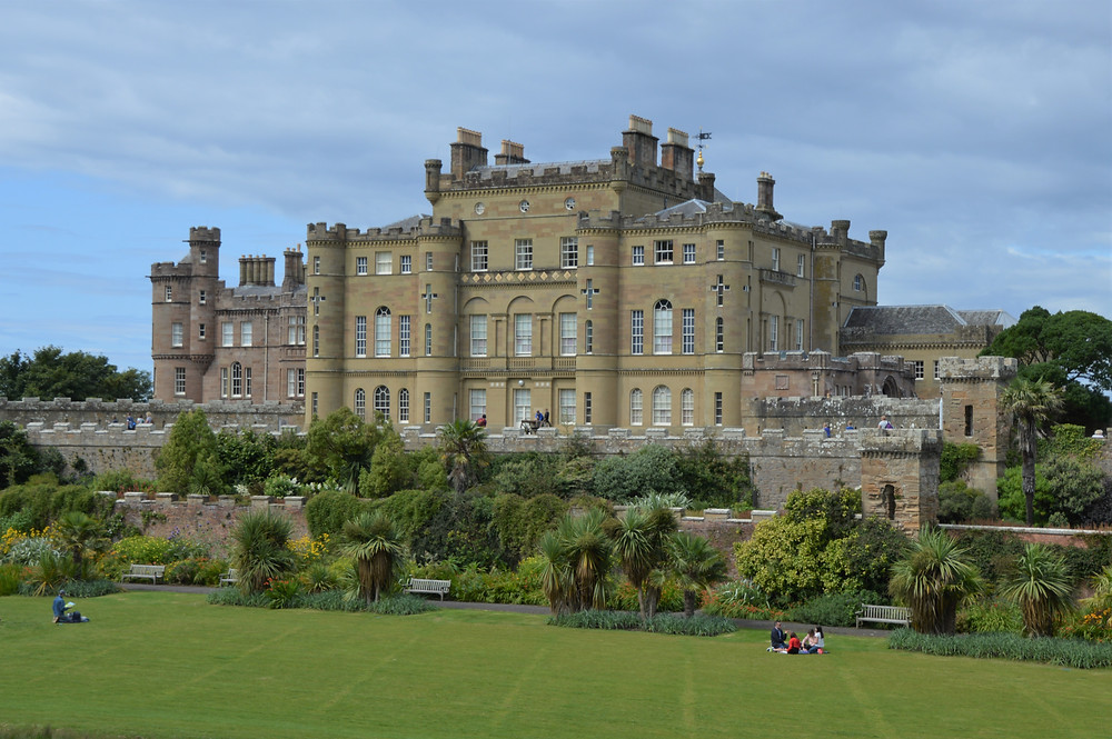 Culzean Castle and beautiful ground in Scotland rivaled the finest European castles of the time