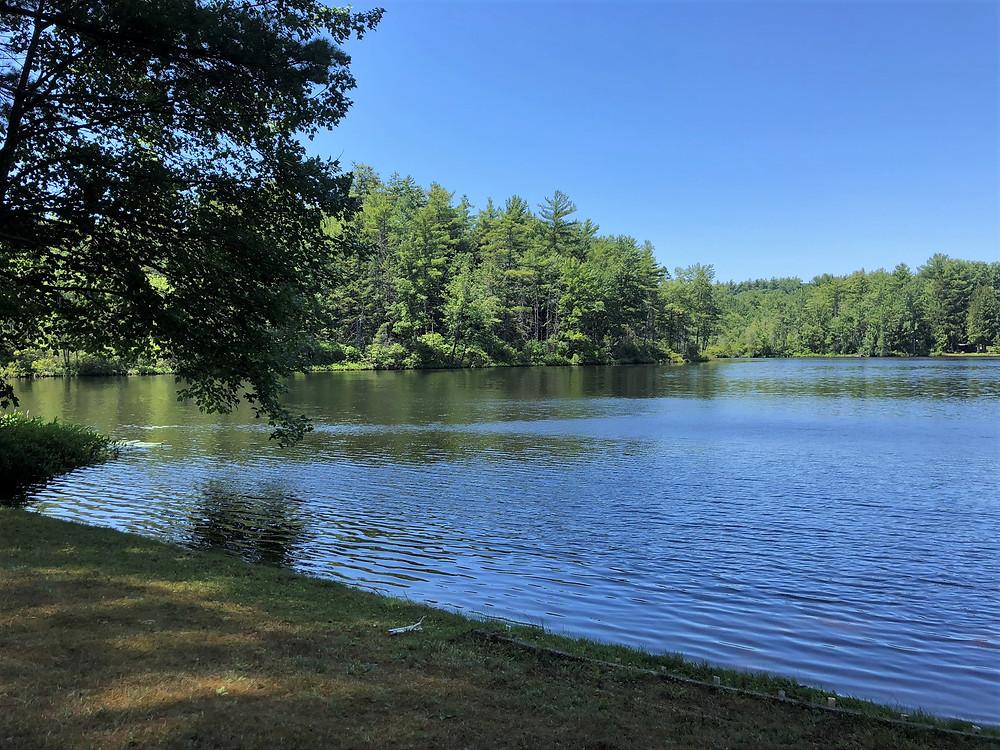 Snake Pond in Gardner, MA