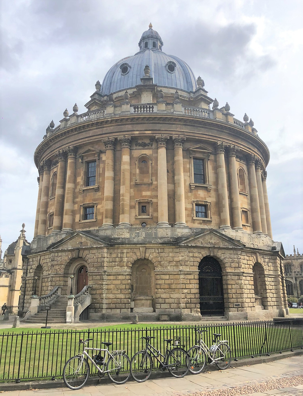 Radcliff Camera an iconic sight in Oxford, England