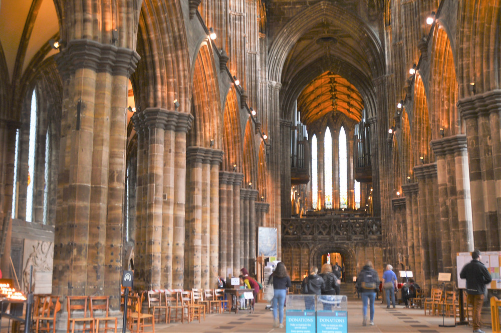 The Nave of the Glasgow Cathedral