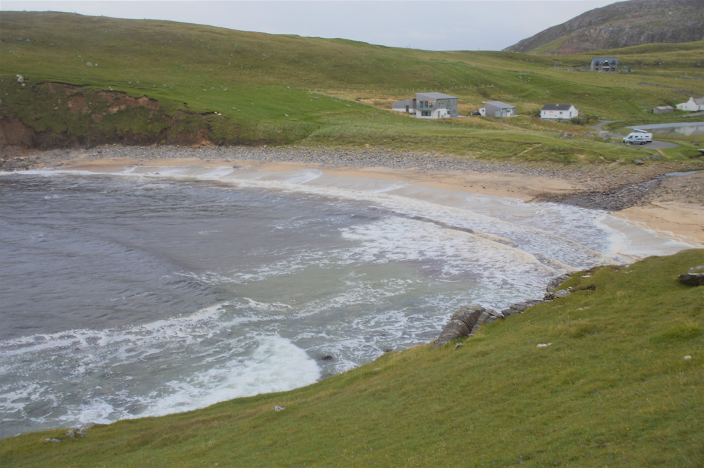 Dalbeg beach in the north of Carloway on Lewis and Harris in the Outer Hebrides.