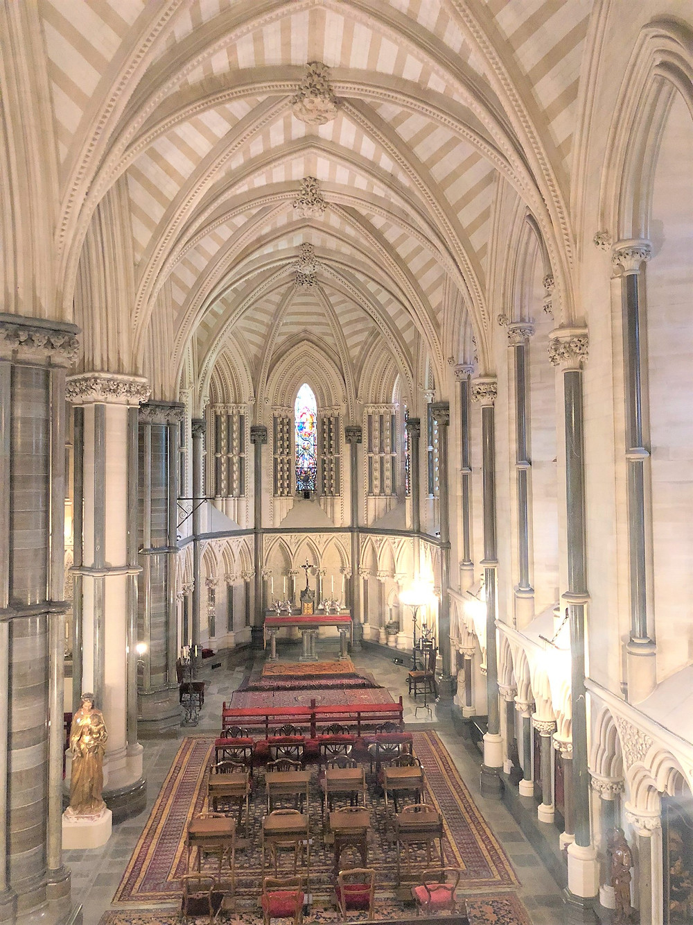 The Chapel of the Howard family in Arundel Castle