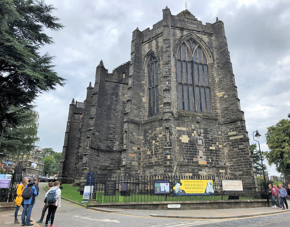 The Church of the Holy Rude located by Stirling Castle was founded in 1129 by David I