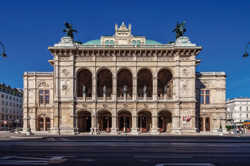 Vienna State Opera is is one of world's most legendary and largest opera houses with 1,709 seats