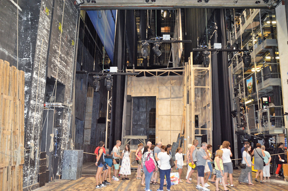 Backstage at the Vienna Opera House