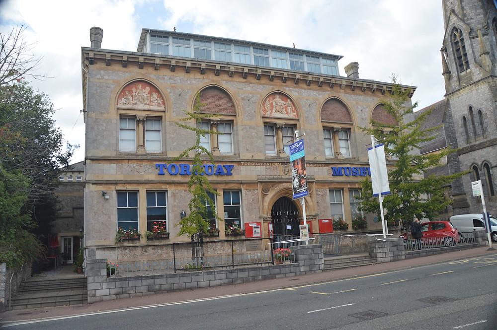 Torquay Museum has an Agatha Christie exhibit